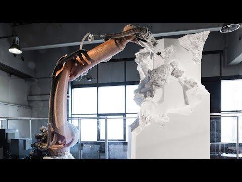 مايكل أنجليو القرن الـ21.. روبوتات فنية تنحت أجمل التماثيل  - نشر قبل 22 دقيقة