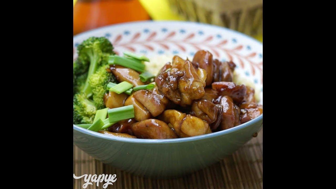 Teriyaki sosunda lezzetli ve kokulu tavuk: tarif