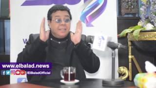 أحمد آدم : برنامجي الأول من نوعه في الوطن العربى .. ولا يجوز مقارنتي بـ'باسم يوسف'.. فيديو وصور