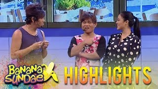 Banana Sundae: How to get along with a talkative friend