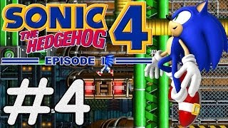 Sonic The Hedgehog 4 Episode 1 (PC) - #4 - Mad Gear Zone