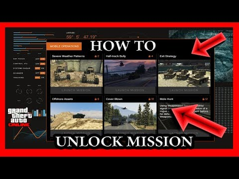 GTA 5 How To Unlock The Mission In The Bunker Hideout Online (Gunrunning DLC Update)