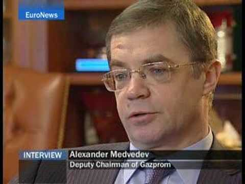 EuroNews - EN - Interview:  Gazprom boss stresses...