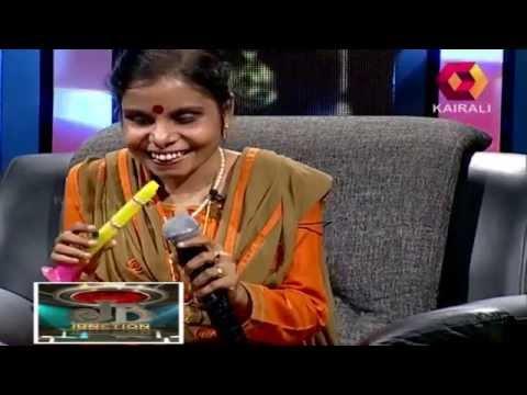 Vaikom Vijayalakshmi plays a flute
