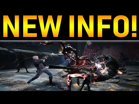 Devil May Cry 5 NEWS! NICO INFO and NERO GAMEPLAY | E3 2018 Trailer Info
