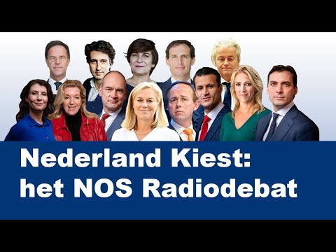 Het volledige NOS Radiodebat | NPO Radio 1