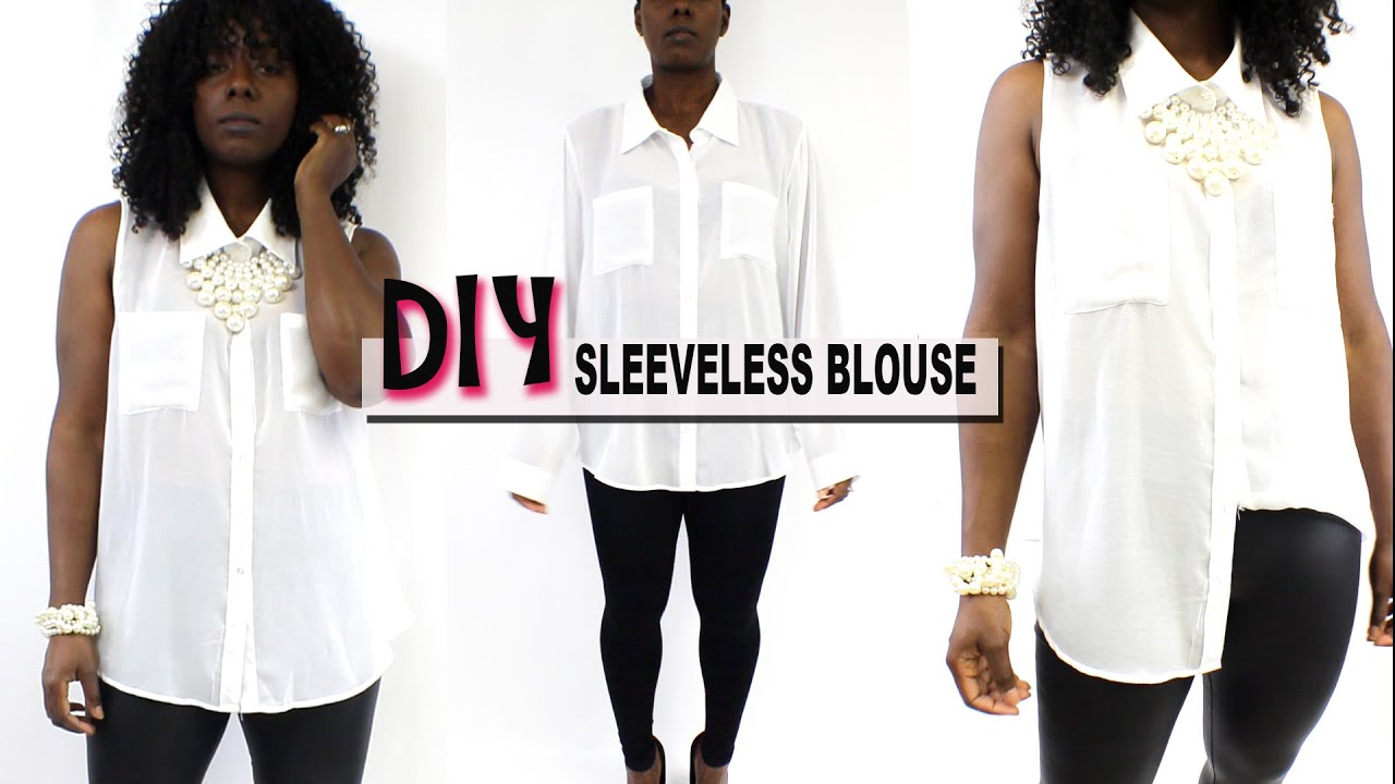 White Blouse Diy 91