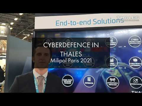 CyberDefence in Thales, Milipol 2021