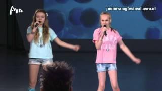 Luca & Denise - Vlinders In Mijn Buik | TV-auditie Junior Songfestival 2014
