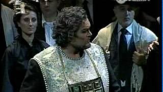 Riccardo Zanellato Nabucco - Sperate o figli.... Come notte.....