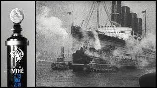Sinking of Lusitania, Germany Surrenders, VE Day and more   British Pathé Archive Picks