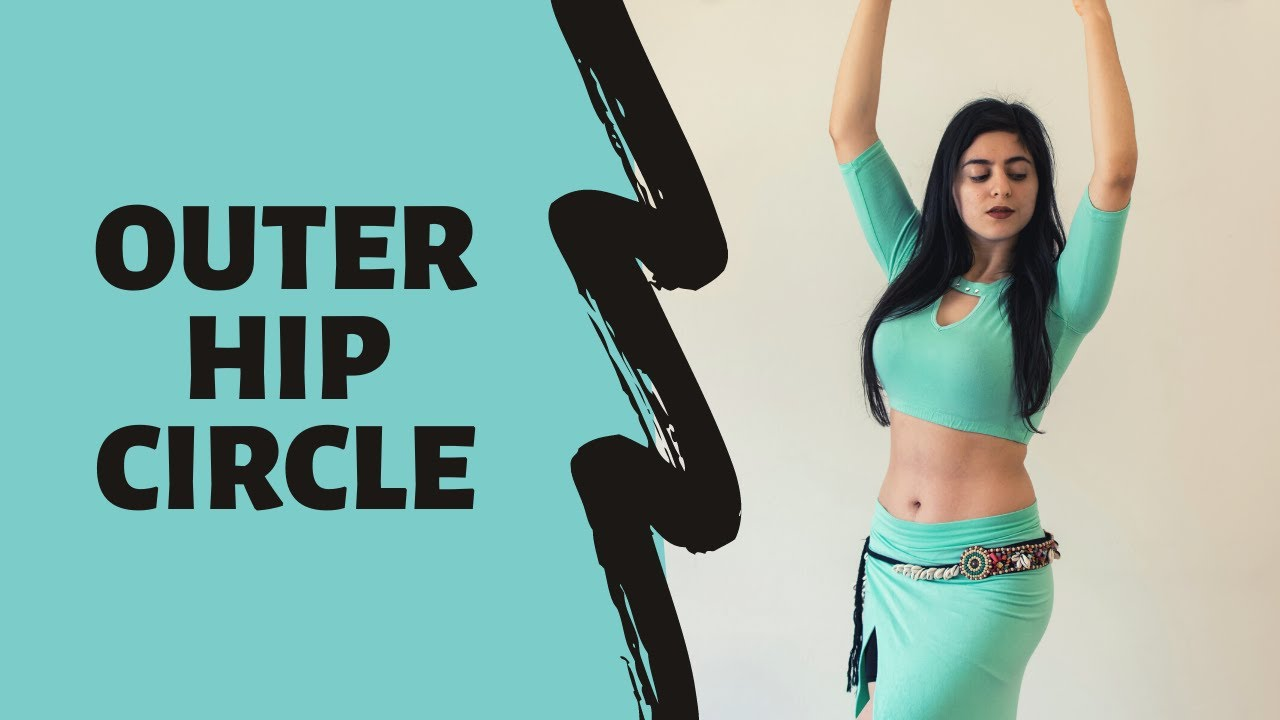Belly Dance For Beginners | How To Do Exterior Hip Circles #8