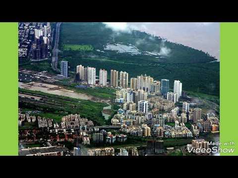 Navi mumbai skyline 2018 !!