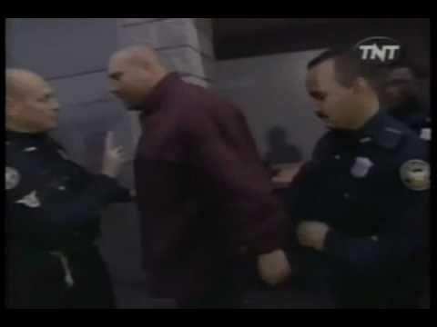 WCW Monday Nitro 1-4-99 Goldberg gets arrested