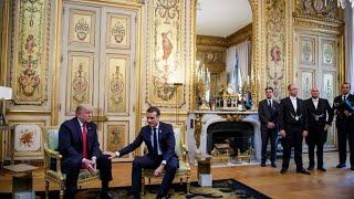 """Trump findet Macrons Forderung nach einer europäischen Armee """"sehr beleidigend"""""""