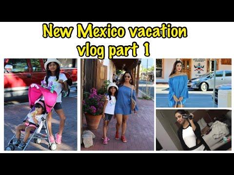 New Mexico Vacation Vlog...Day 1 at Albuquerque (Desi family vlogs).