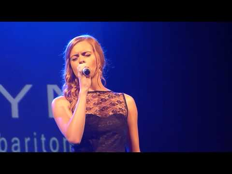 Sophie Evans 'Out Here On My Own' live Lyric Theatre Carmarthen 17.07.13. HD
