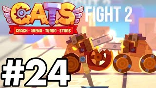 HOW TO WIN WITH THE WORST BUILD..!! | C.A.T.S | Crash Arena Turbo Stars Gameplay Part 24