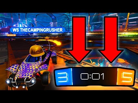 WORLD RECORD COMEBACK IN ROCKET LEAGUE!!