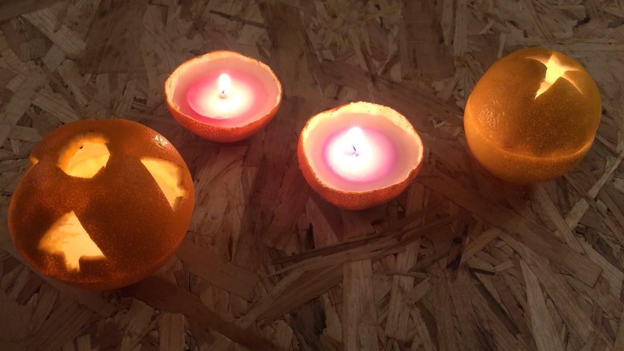Pomysł na świąteczne świeczki / The idea for the Christmas candles
