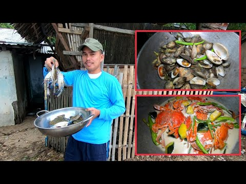 blue-crabs-with-fresh-veggies-+-sea-clams-|-catch-&-cook