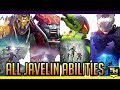 Anthem   All 4 Javelin Abilities: Intrinsic, Offensive, & Support