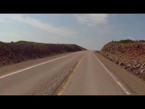 Motorcycle Ride -Port Au Port peninsula, NL, Canada