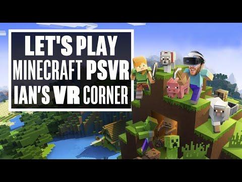 Minecraft PSVR Gameplay Turns Minecraft Into A Horror Game! - Ian's VR Corner