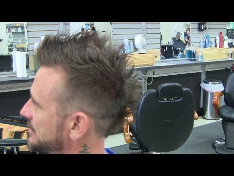 how to cut a mohawk with clippers