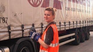 Vita da camionista 2 giorno con Iwona Blecharczyk