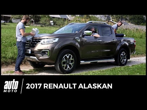 2017 Renault Alaskan [ESSAI] : clonage en règle (avis, technique, off-road, équipements)