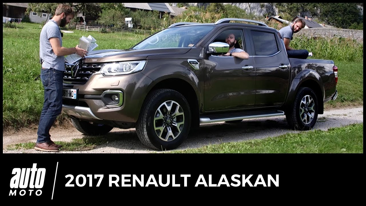 2017 renault alaskan essai clonage en r gle avis technique off road quipements youtube. Black Bedroom Furniture Sets. Home Design Ideas