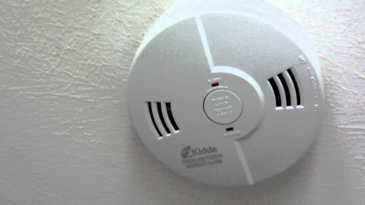 kidde voice smoke detector sprechender rauchmelder youtube. Black Bedroom Furniture Sets. Home Design Ideas