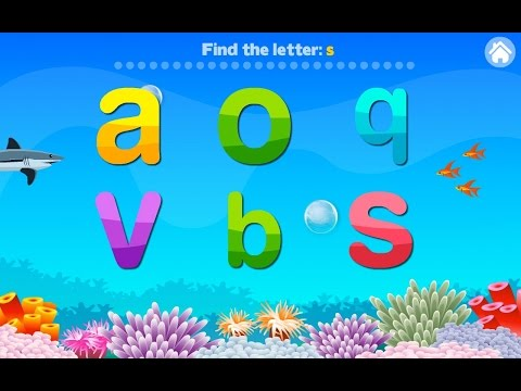 Letter Quiz Alphabet Aquarium