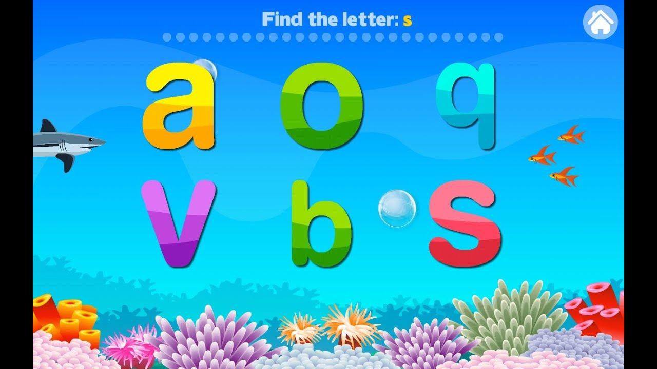 Letter Quiz Alphabet Aquarium Education Games Android Mental Developer Games For Kids