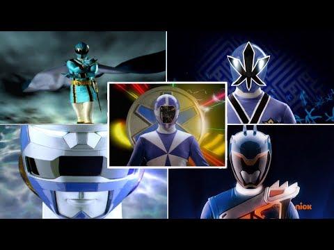 Top 10 Blue Rangers Morph Sequences | Power Rangers Morphs | Superheroes
