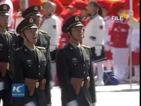 New PLA forces contribute to strong military