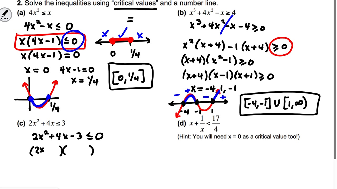Section 1 Part 1 AP Calculus: Review of Algebra 2 Concepts