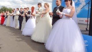 Свадьба - Самый Счастливый День в Жизни. Саратов. Влог: Россия 2013