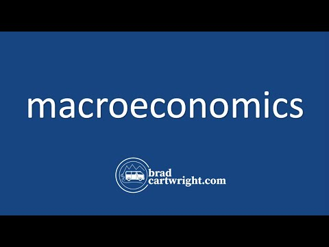Fundamentals of Macroeconomics Series:  Introduction and Overview of Macroeconomics