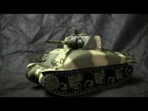 Vintage Dragon 1/35th scale M4A1 Sherman tank early production