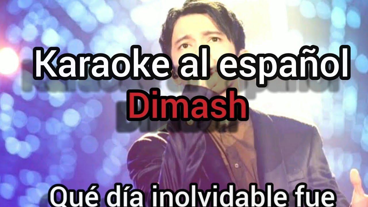 Karaoke - Día Inolvidable Dimash(tono bajo - Low Key)