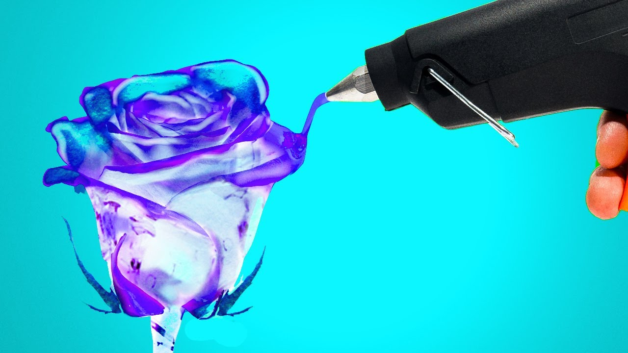 31 HOT GLUE HACKS YOU HAVE TO TRY! || Amazing Glue Gun ...