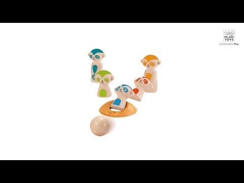 Plan Toys Meerkat Bowling 5199