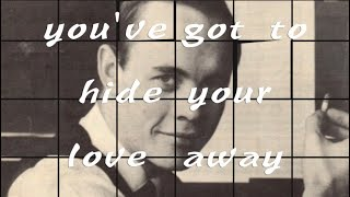 Jeremy Lubbock – My One & Only Love/You've Got to Hide Your Love Away—w/ Schuur, Kellaway, Barrueco