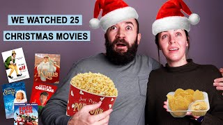 We Watched 25 Christmas Movies in 25 Days