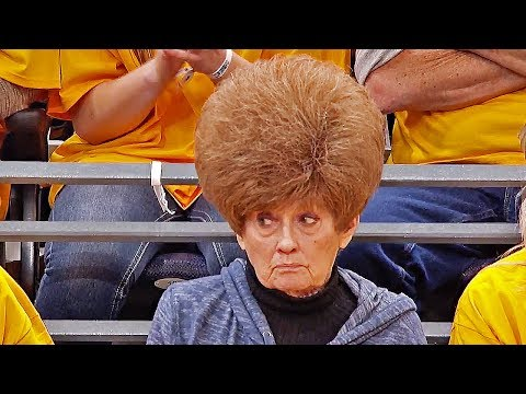 This fan's incredible hair has given the Utah Jazz reason to believe