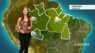 Previsão Norte - Muita chuva em RO e AC