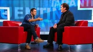 Quentin Tarantino On George Stroumboulopoulos Tonight: INTERVIEW