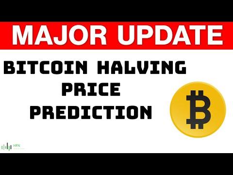 Bitcoin (BTC) Halving Price Prediction - Major Update